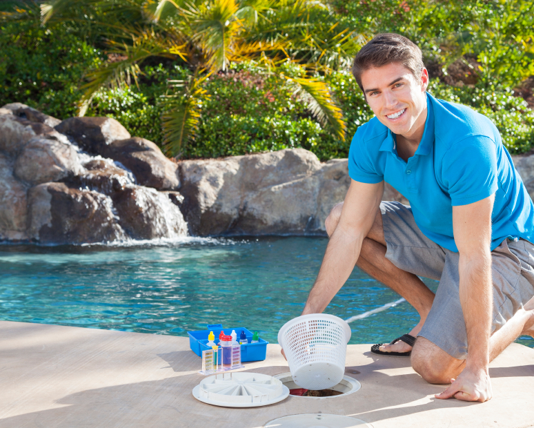 Apex Pool Service Weekly Cleaning